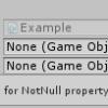 【Unity】Inspector で変数の参照が設定されていないオブジェクトを発見できる「NotNu
