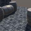 【Unity】Unity上でモデリングができるProBuilderアセットのチュートリアルで樽を作っ