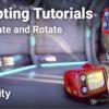 Translate and Rotate - Unity Learn